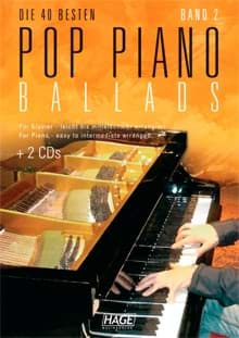 Bild von Pop Piano Ballads Band 2 + 2 Playback CD's