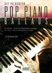 Bild von Pop Piano Ballads + 2 Playback CD's