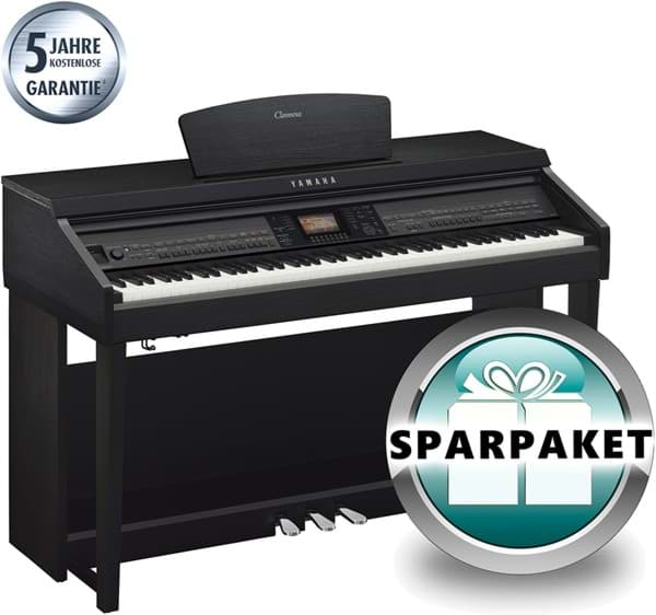yamaha cvp 701 b digitalpiano schwarz matt sparpaket. Black Bedroom Furniture Sets. Home Design Ideas