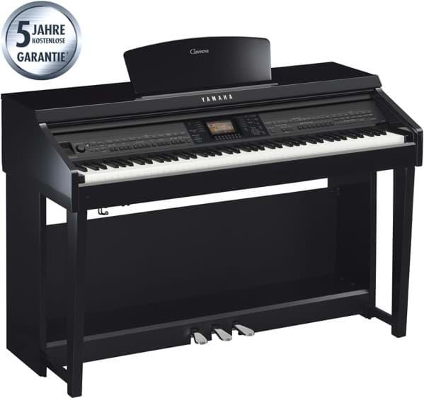 yamaha cvp 701 pe digitalpiano schwarz hochglanz. Black Bedroom Furniture Sets. Home Design Ideas