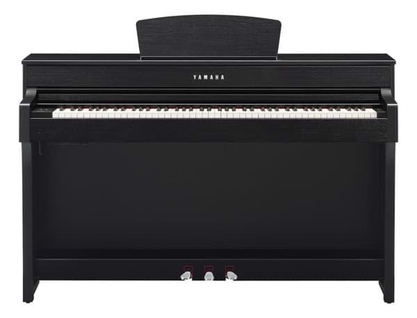 yamaha clavinova clp 635 dw digitalpiano dunkles walnuss. Black Bedroom Furniture Sets. Home Design Ideas