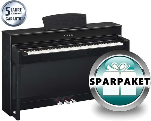 yamaha clavinova clp 635 b digitalpiano schwarz matt. Black Bedroom Furniture Sets. Home Design Ideas