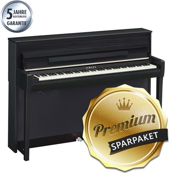 yamaha clavinova clp 685 b digitalpiano schwarz matt bauer music. Black Bedroom Furniture Sets. Home Design Ideas