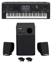 Bild von Yamaha GENOS 2.0 XL - Entertainer Workstation inkl. GNS-MS01 Speakerset