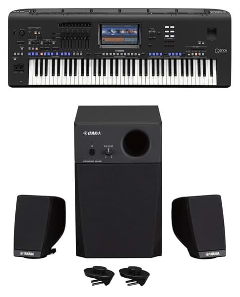 Bild von Yamaha GENOS XL - Entertainer Workstation inkl. GNS-MS01 Speakerset