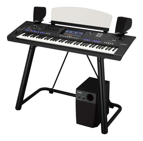 Bild von Yamaha GENOS 2.0 XXL - Entertainer Workstation inkl. GNS-MS01 Speakerset + Ständer L-7B