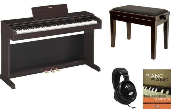 yamaha arius ydp 143 r digitalpiano rosenholz bauer music. Black Bedroom Furniture Sets. Home Design Ideas