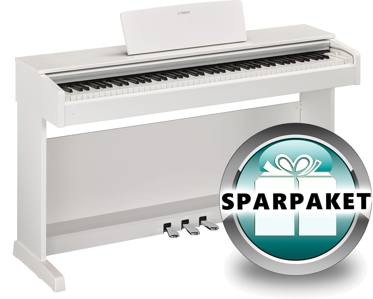 ydp144 Klavier Digitalpiano E-Piano Yamaha YDP-144 WH weiß matt